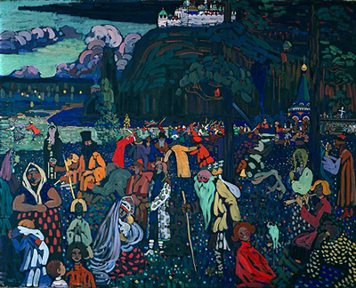 Colourful Life Wassily Kandinsky