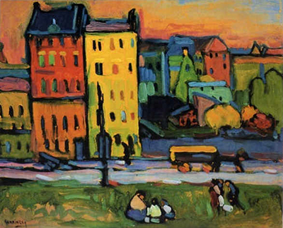 Houses in Munich Wassily Kandinsky