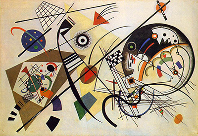 Straight Line Art Meaning : Transverse line by wassily kandinsky